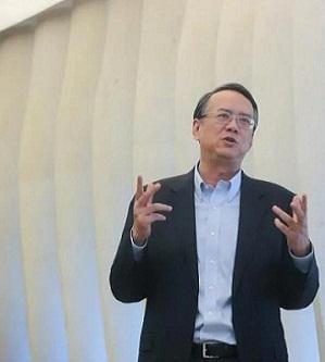 劉宏氏「世界へ寄って考え、世界に右へ倣えするビジネス環境を作り上げる」