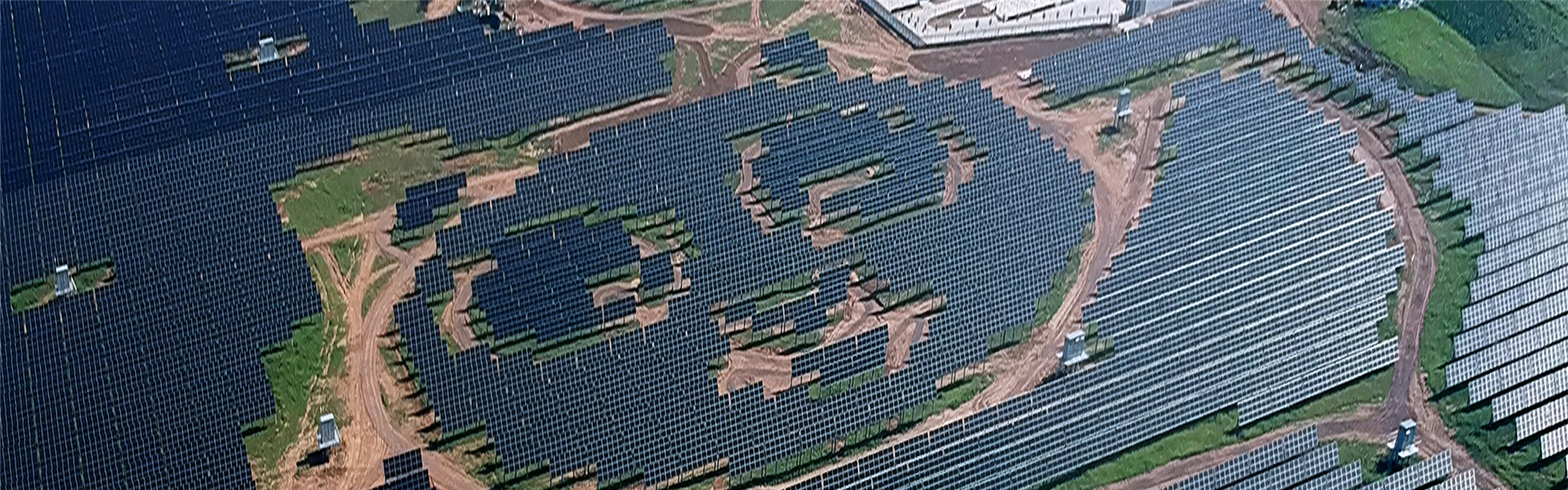 Panda-shaped photovoltaic power station in Datong