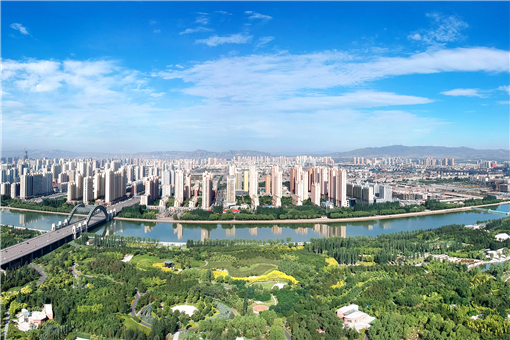 A panorama of Datong city
