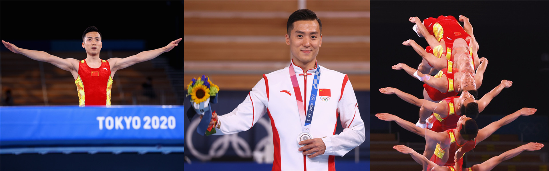 Datong athlete wins silver in men's trampoline at Tokyo Olympics