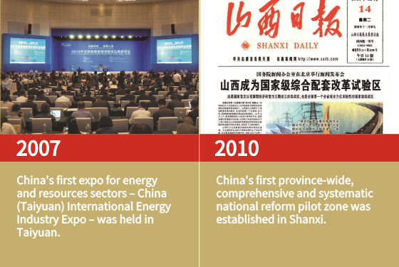 China's first expo for energy and resources sectors was held in Taiyuan.