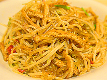 Shredded tofu with vermicelli in Pingding county