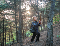 Retired patrolman devoted to protecting forest