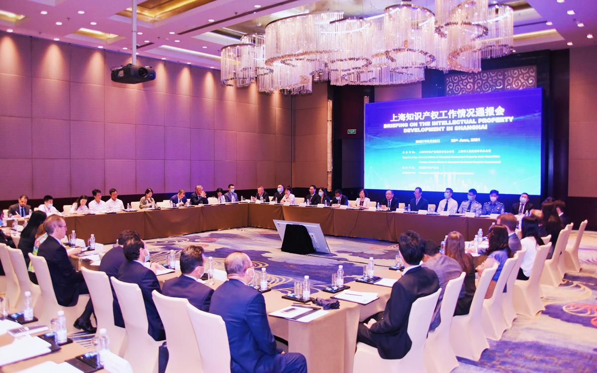Shanghai holds briefing on IP development