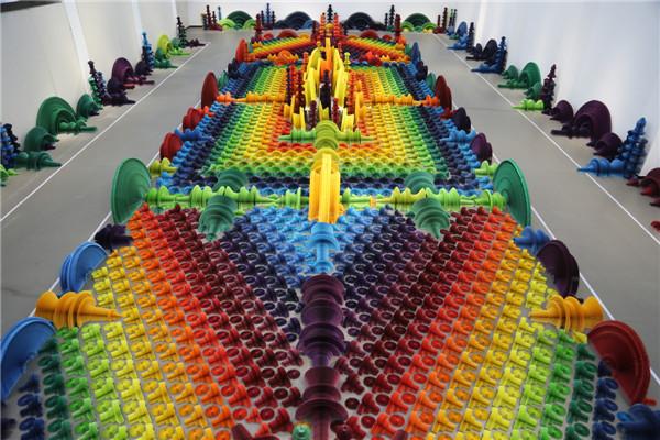 Beijing paper art exhibit pushes the envelope