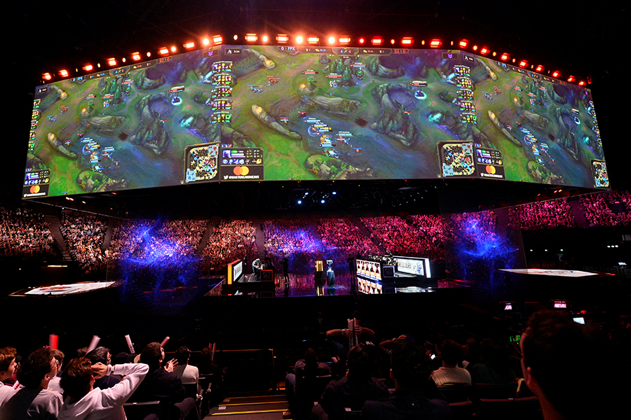 Slew of top e-sports events to kick off in August in Beijing
