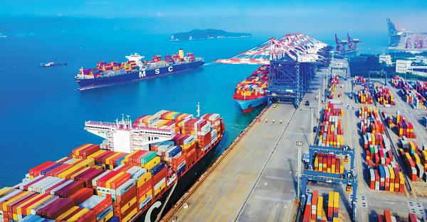 Xiamen container throughput reaches record high