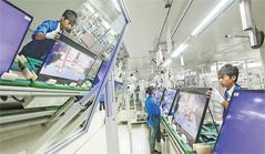 Panel display industry