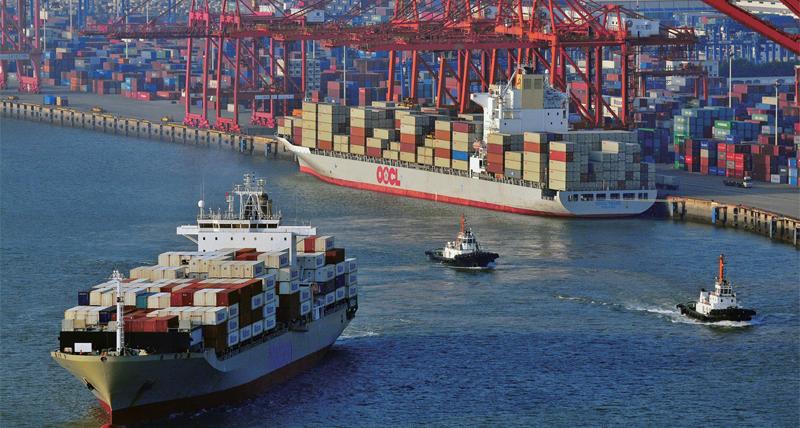Modern logistics industry