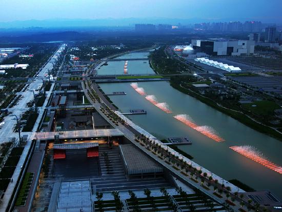 奥林匹克中心区龙形水系(同方光电).jpg