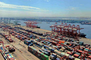 Tianjin Port sees growing foreign trade in June