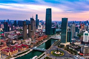 Tianjin to form two urban centers
