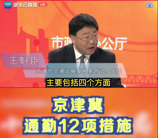 Beijing-Tianjin-Hebei region to implement 12 commuting measures