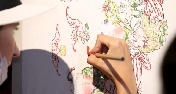 Traditional Tianjin craft: Yangliuqing New Year paintings