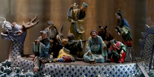 Traditional Tianjin craft: Detailed and lifelike clay figures