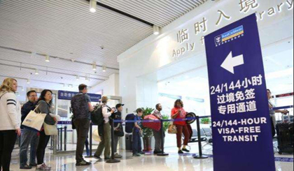 Cities and ports with 144/72-hour visa-free transit in China
