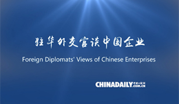 Foreign diplomats: Chinese enterprises boost local economies