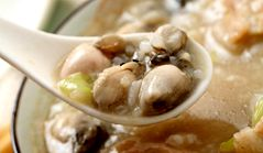 Dried Oyster Porridge