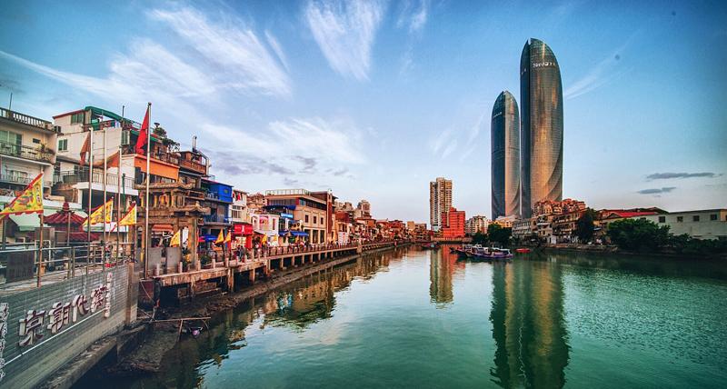 Shapowei in Xiamen