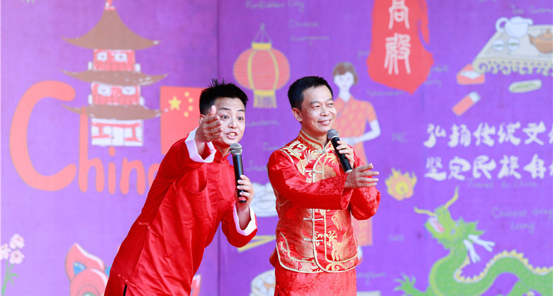 In pics: Intangible cultural heritages showcased in Xiamen