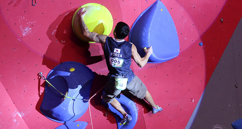 Climbing world cup kicks off in Xiamen in October