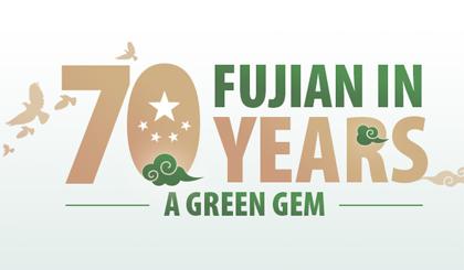 Fujian in 70 years: A green gem