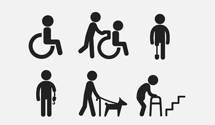 Better support for severely disabled poor people