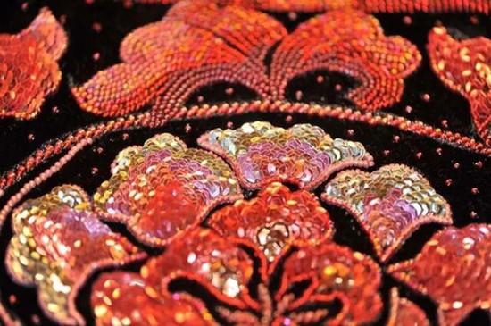 Xiamen bead embroidery