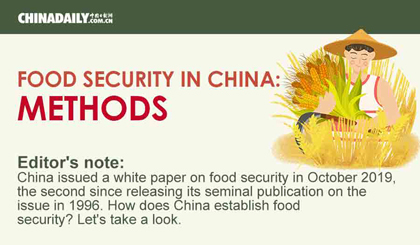 Food security in China: Methods