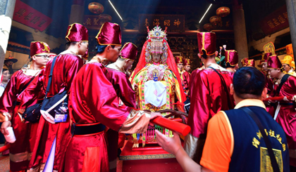 Thais roll out the red carpet for Mazu visit