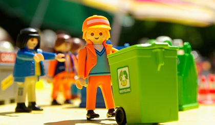 23 garbage recycling companies are registered in China per day