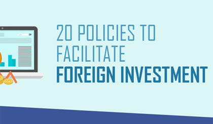 20 policies to facilitate foreign investment