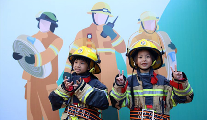 Fire safety education event held in Xiamen