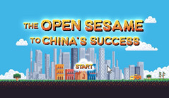 The Open Sesame to China's Success