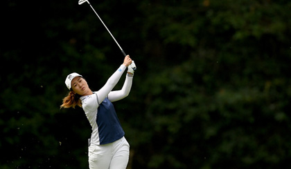 Lin regains lead at Women's China Open