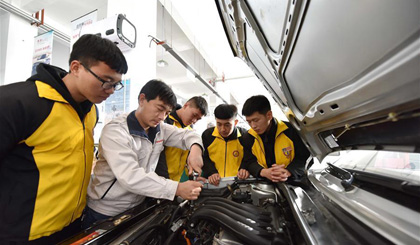 China makes headway in vocational education