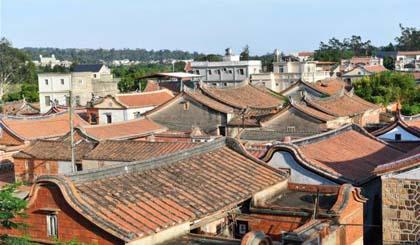Ancient Minnan style buildings in Jinmen