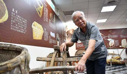 Jinmen history and culture expert cherishes peace