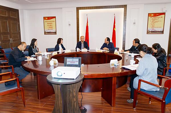 Provincial officials survey YNU's union work