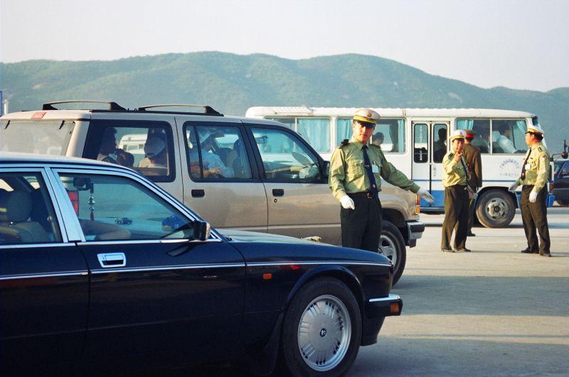 Directing traffic in 1998 [Photo by Yan Xing].jpg