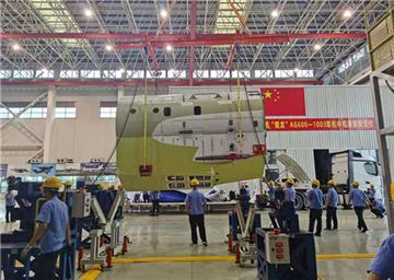 Jinwan plant starts assembling its second huge amphib