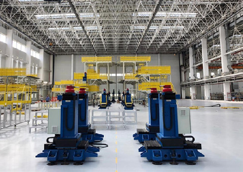 AG600 being assembled on modernized lines in Jinwan