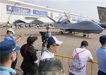 Cutting-edge drones displayed at show