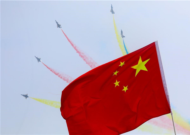 Advanced jets illustrate progress made under 5-star flag