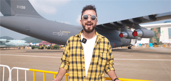 Explore 13th Airshow China with Mohamed Osama