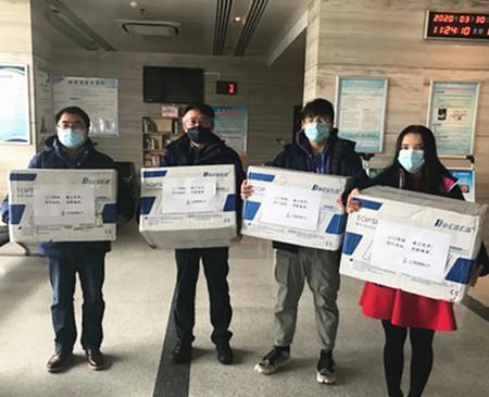 Sanmen Nuclear Power acts to help overseas virus fight