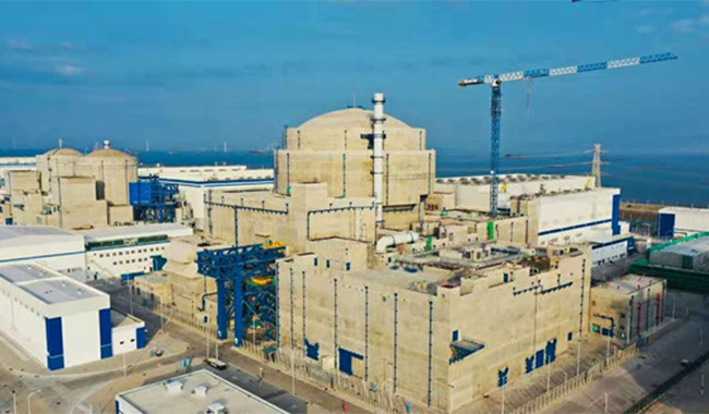 First Hualong One reactor connected to grid