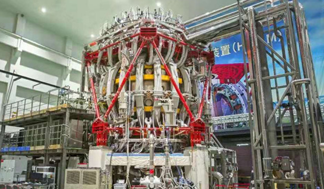 China's 'artificial sun' achieves first discharge